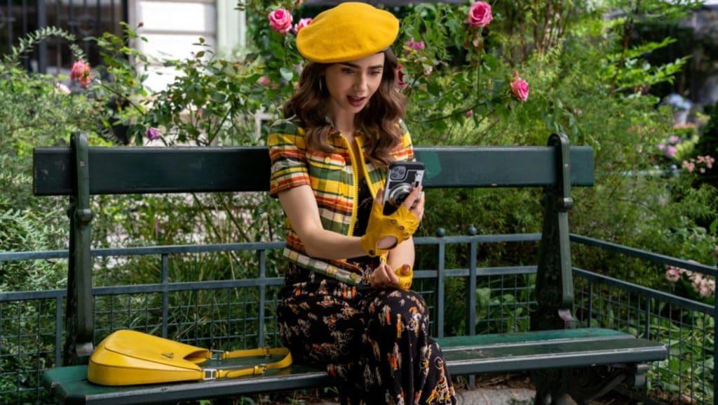 1ères images bande-annonce Emily in Paris Netflix