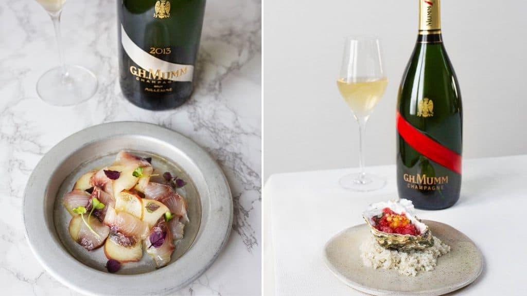 mumm champagne pinot noir dégustation gratuite histoire