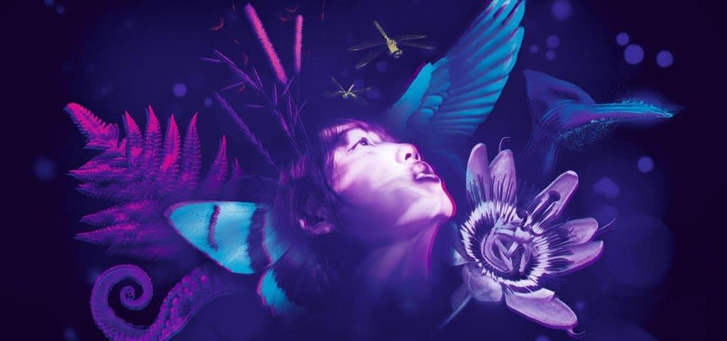 L'Odyssée sensorielle exposition immersive Jardin des Plantes Paris