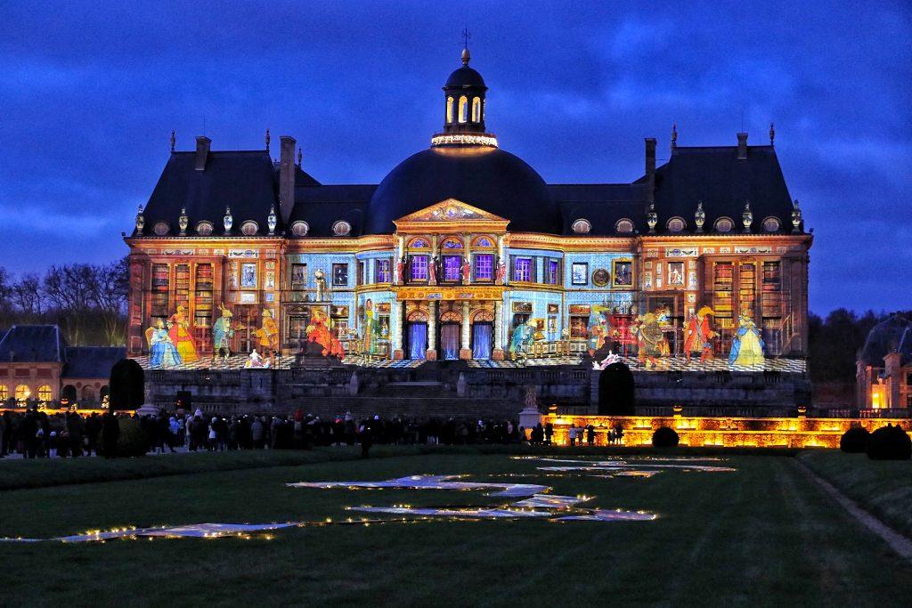 Vaux-le-Vicomte en Lumières 2021 Fables de La Fontaine