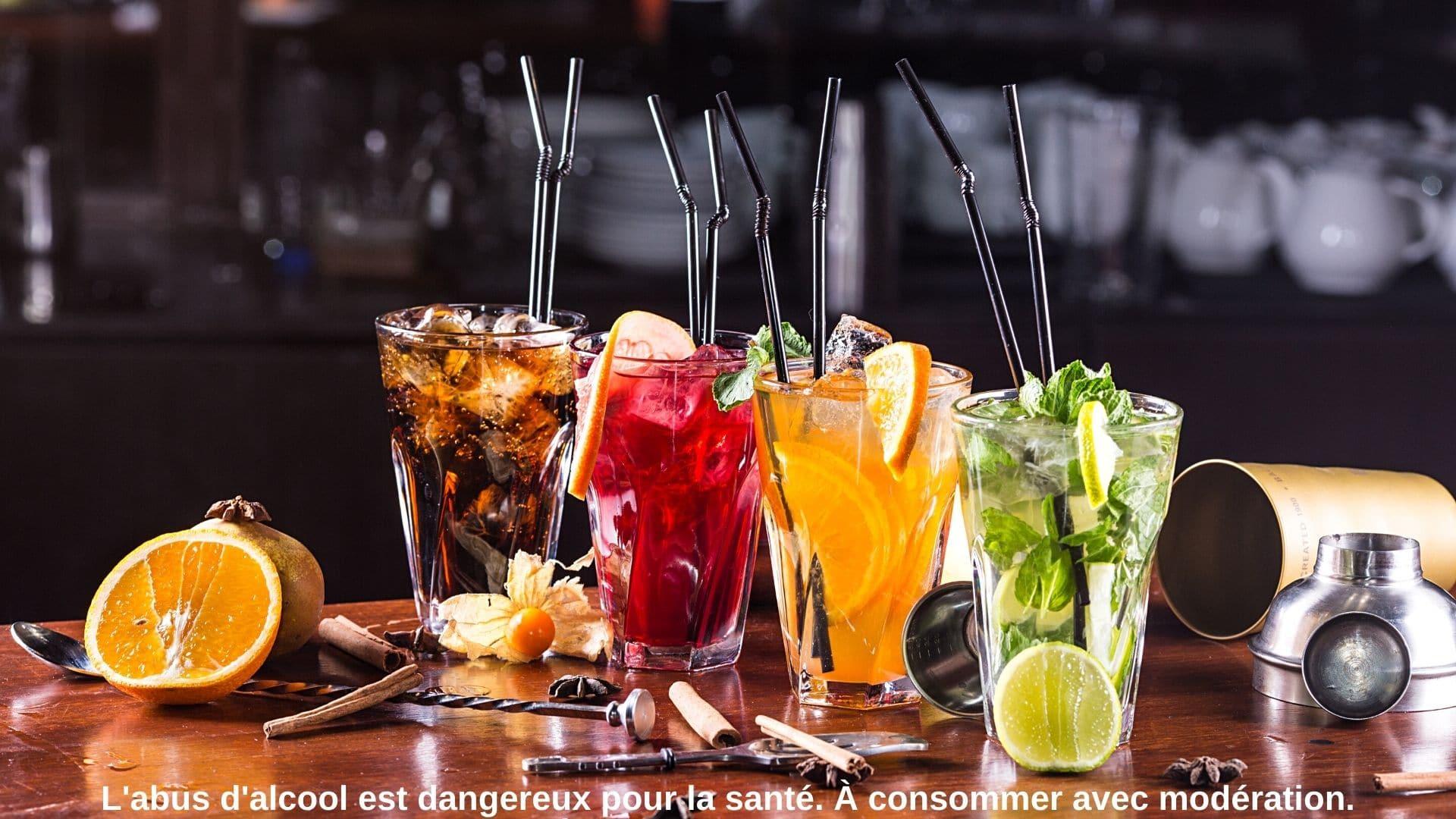 la casa de papel cocktails inspirés paris