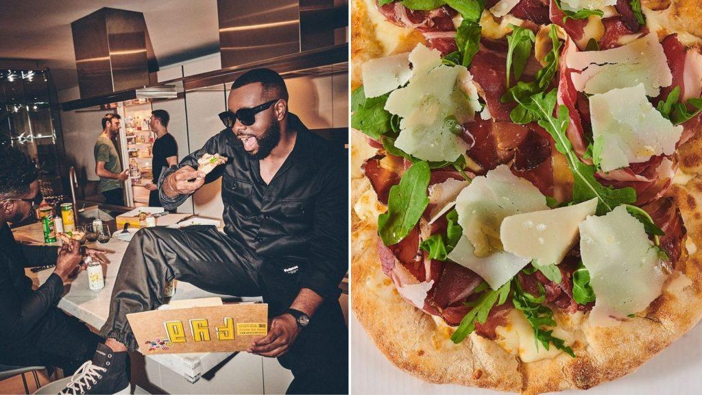 fya pizza maitre gims ouverture paris livraison pizzeria