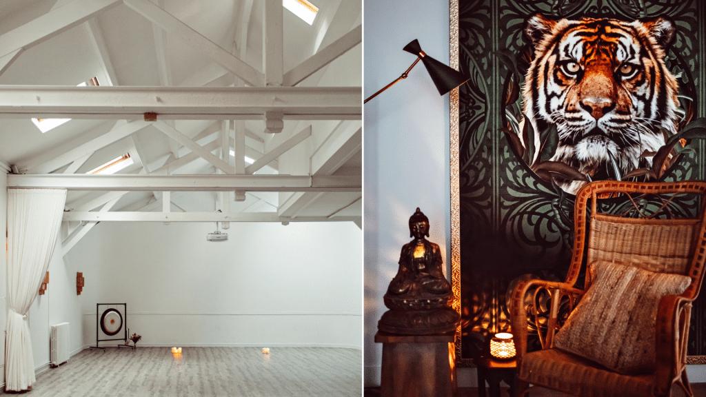 """Exclusif : Le célèbre Tigre Yoga Club ouvre """"La Maison du Tigre,"""" un nouvel havre de bien-être accessible à tous !"""