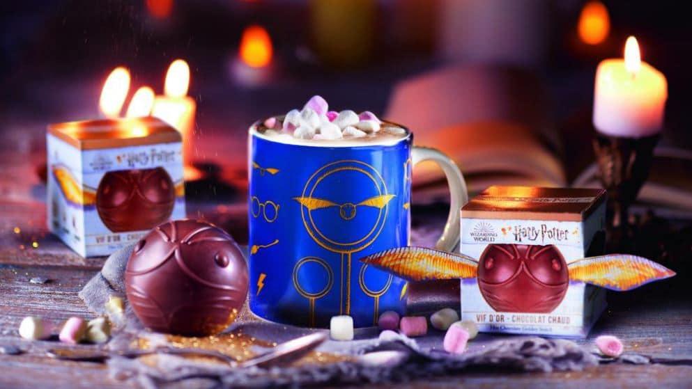 Vif d'Or Harry Potter chocolat Comptoir de Mathilde Warner Bros