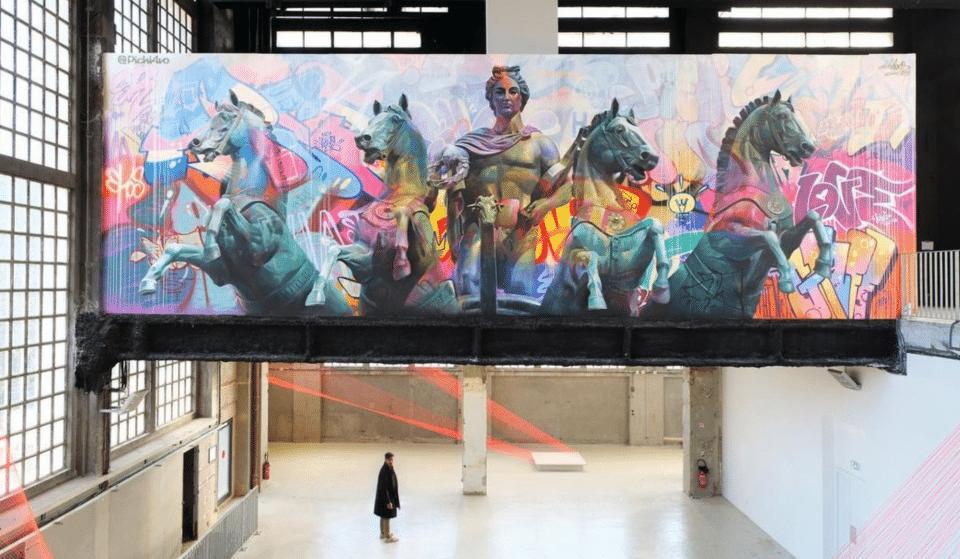 «Metamorphosis» : une exposition gratuite avec des fresques monumentales à découvrir sur 1200 m2 !