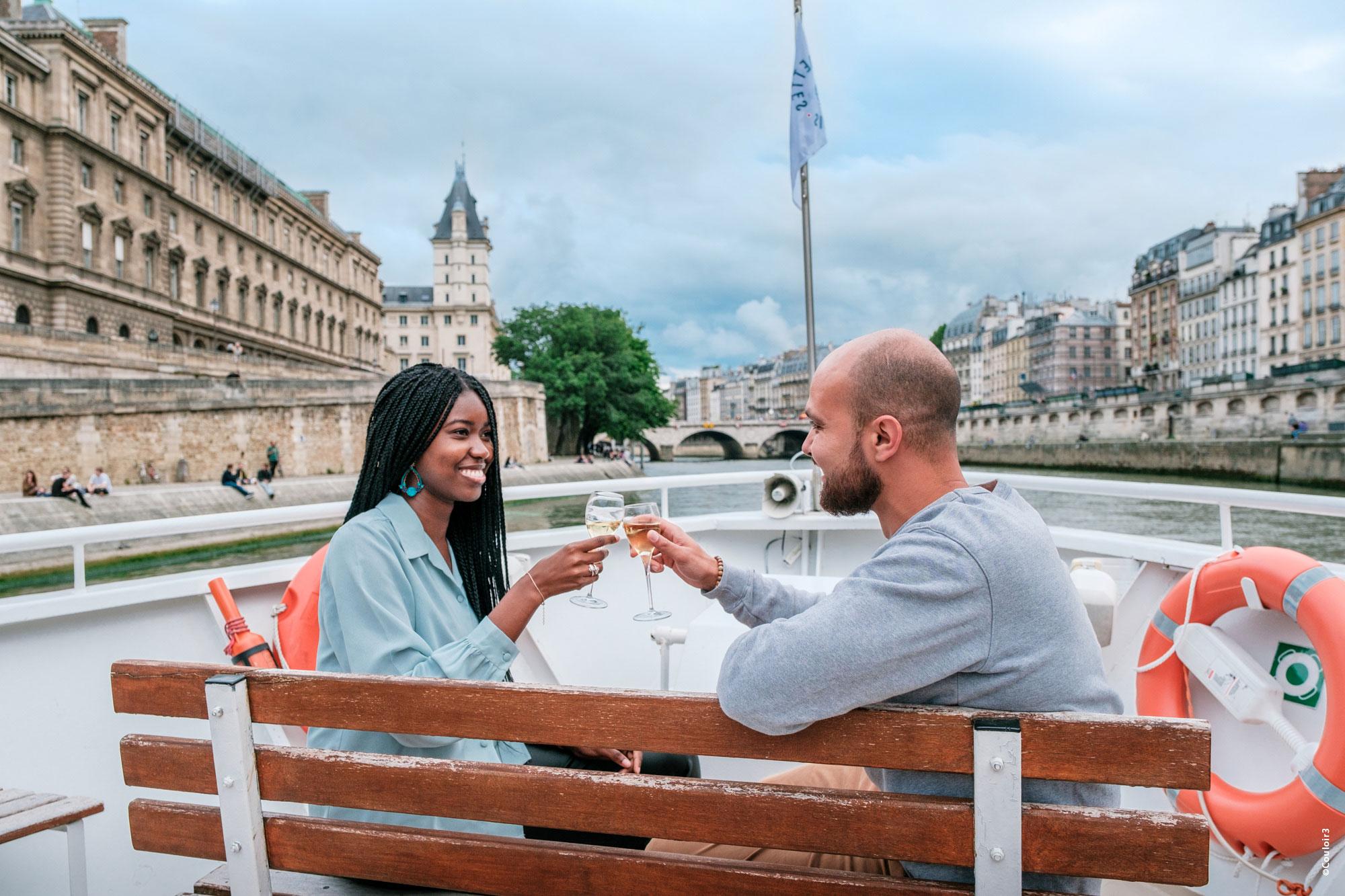 Croisière sur Seine les vedettes Paris