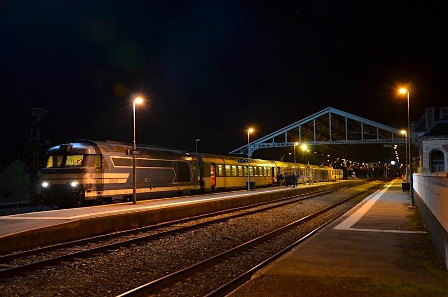 Train de Nuit Paris-Vienne décembre