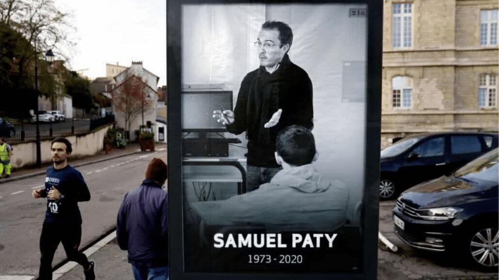 Square Samuel-Paty inauguré samedi à Paris La Sorbonne