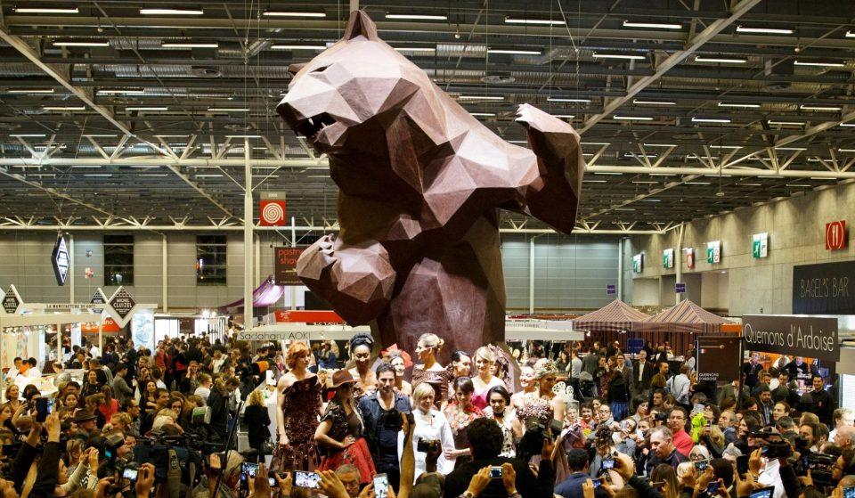 Le Salon du Chocolat revient à Paris du 28 octobre au 1er novembre !