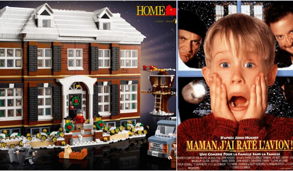 LEGO® sort une réplique de la maison de «Maman j'ai raté l'avion» remplie de pièges !