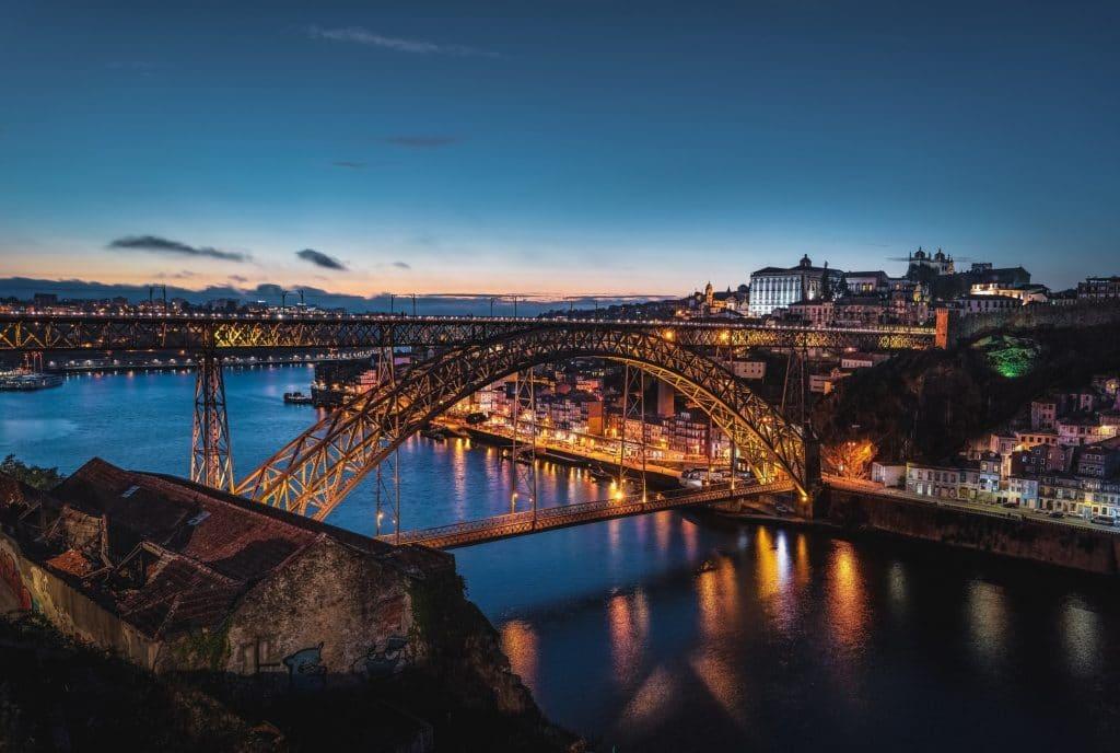 Ponte Luiz I entre as mais bonitas da Europa