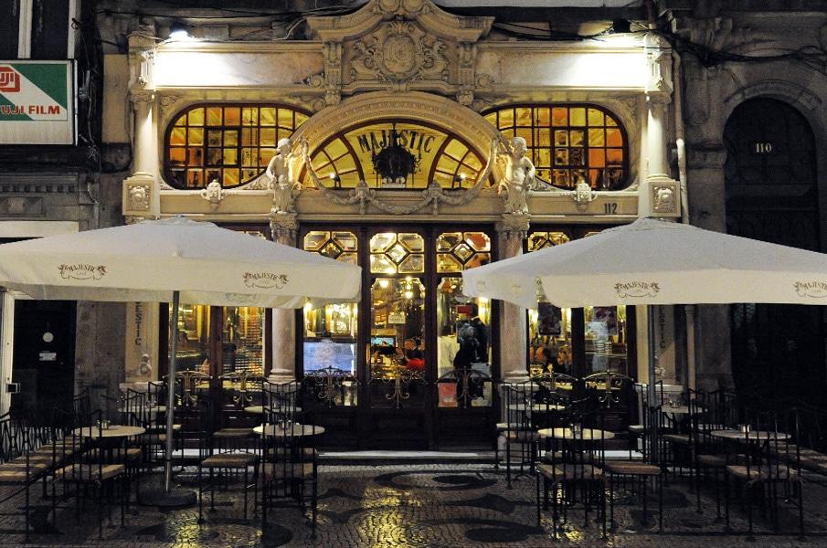 cafe majestic fachada