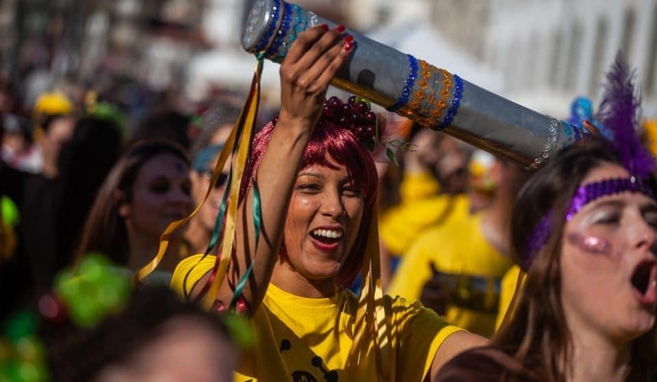 Batucada Radical volta a sair à rua para animar o Carnaval da cidade