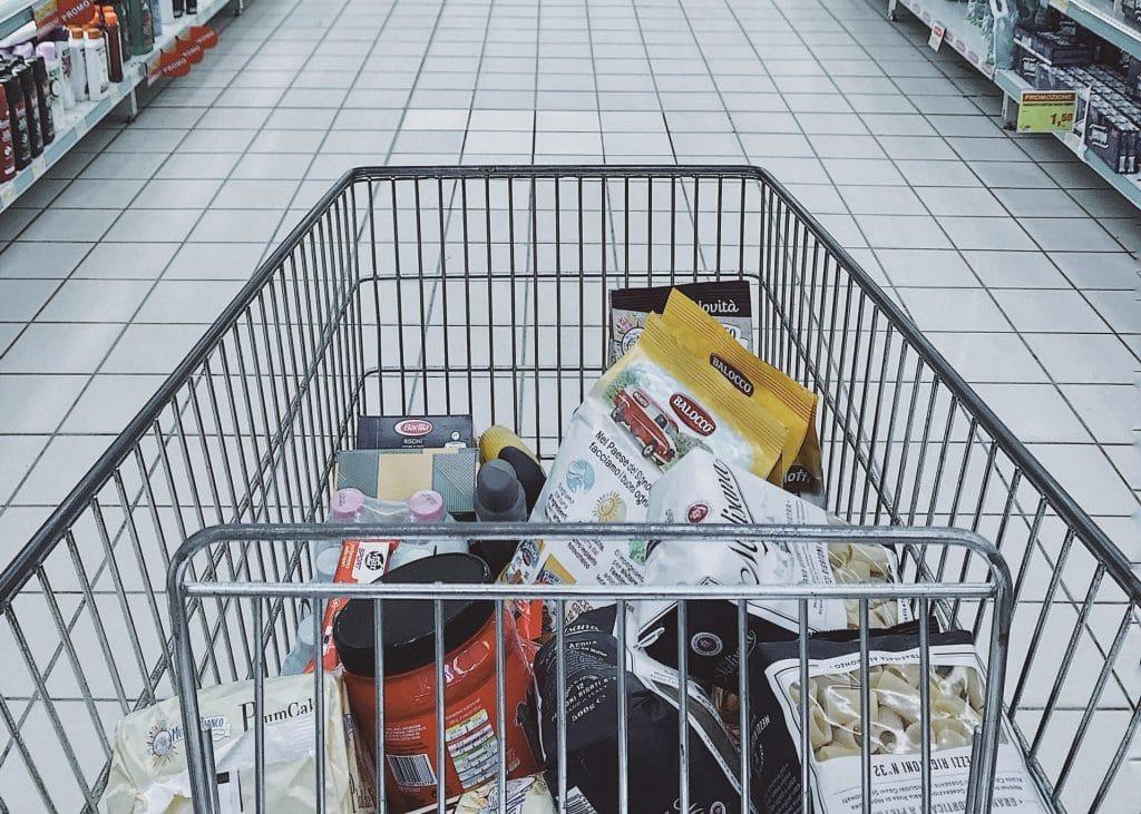 carrinho de supermercado