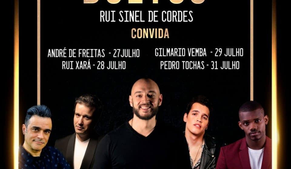 Rui Sinel de Cordes regressa ao Sá da Bandeira (com 4 novos convidados)