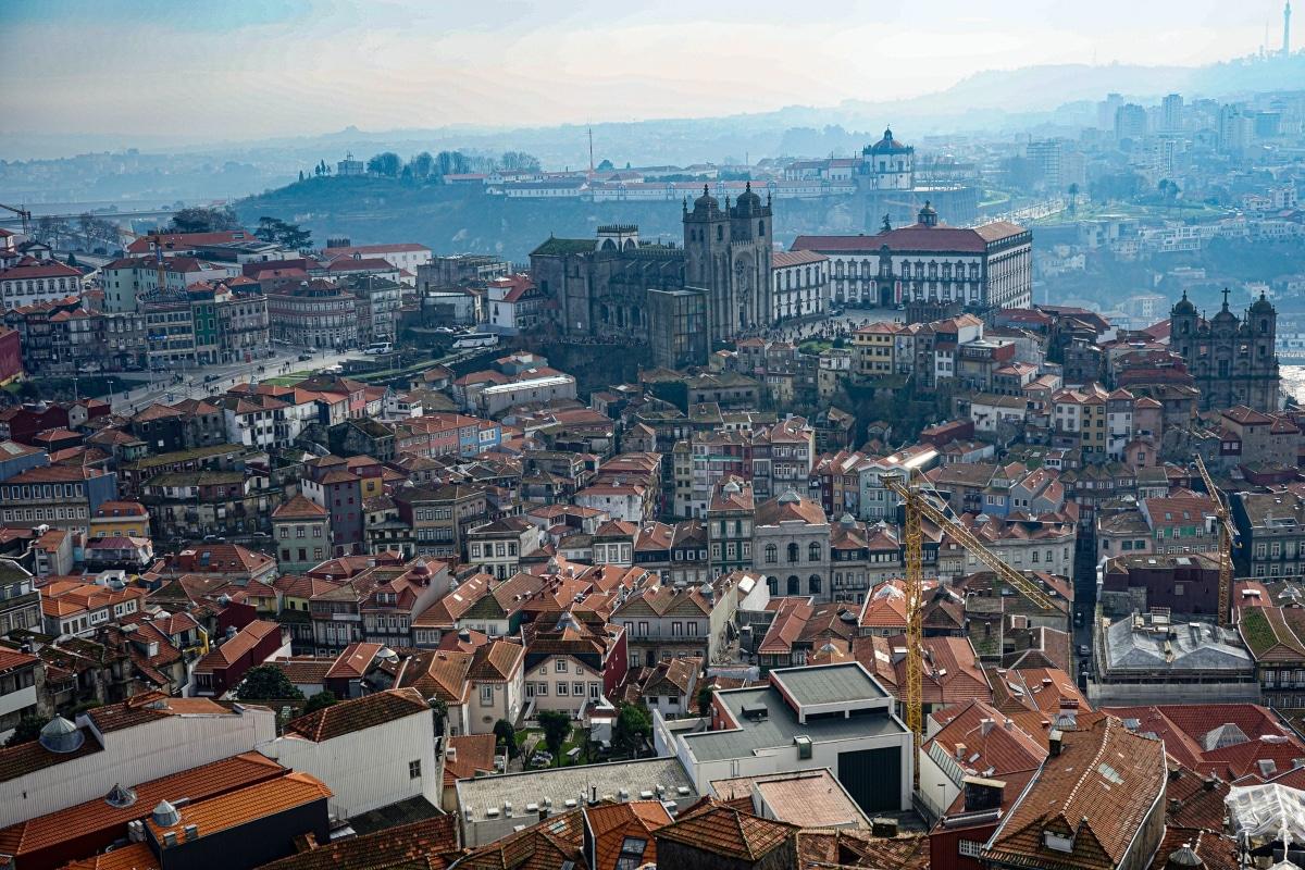 miradouros da cidade do porto
