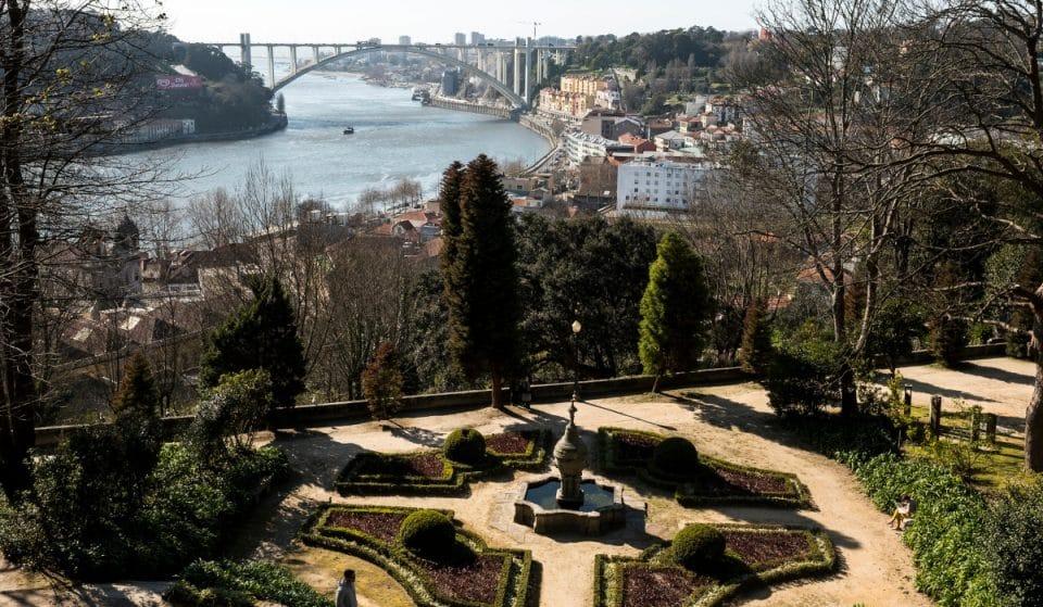 Os diferentes jardins do Palácio de Cristal