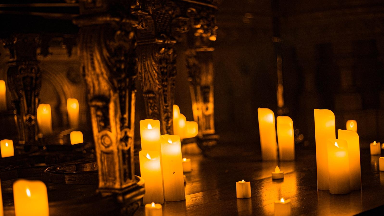 fantasma da opera velas