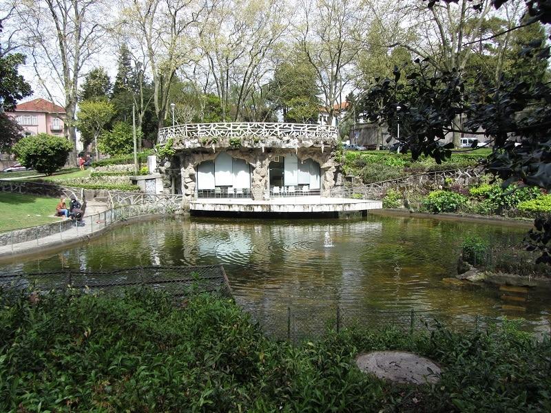 jardim de arca d'água