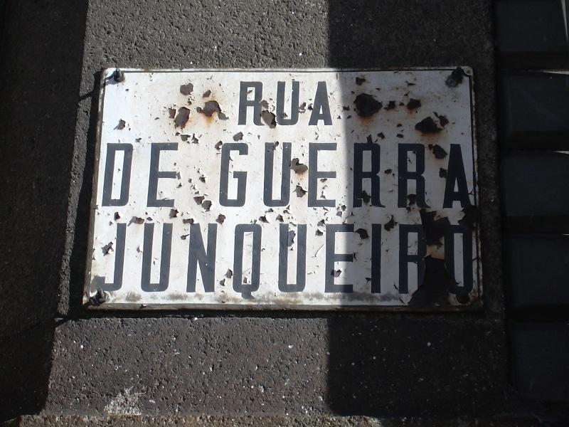 placa de rua porto