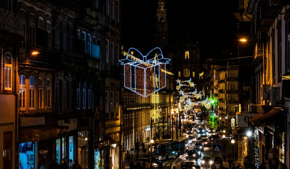 Estamos rendidos ao Porto vestido de Natal