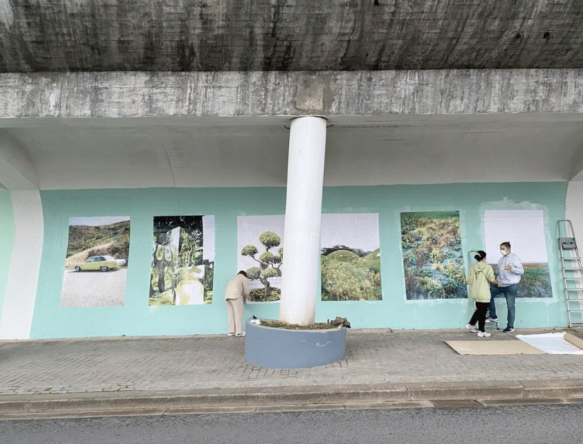 Mural Coletivo Arte Urbana