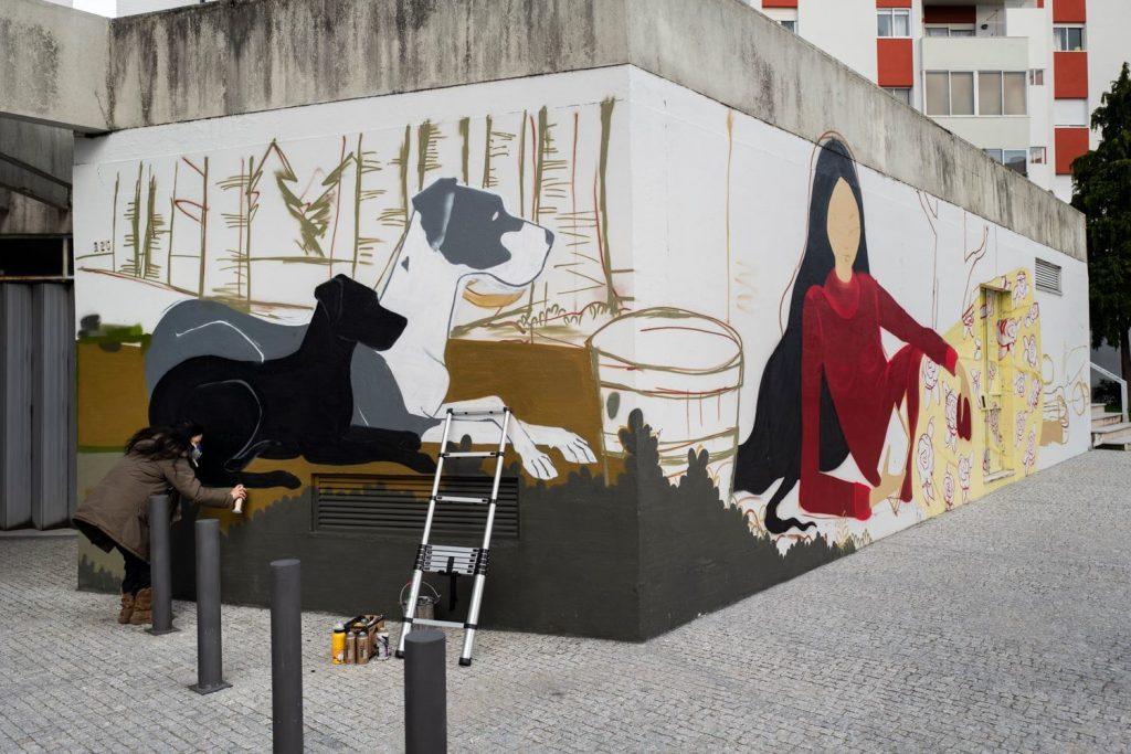 Rafi mural porto