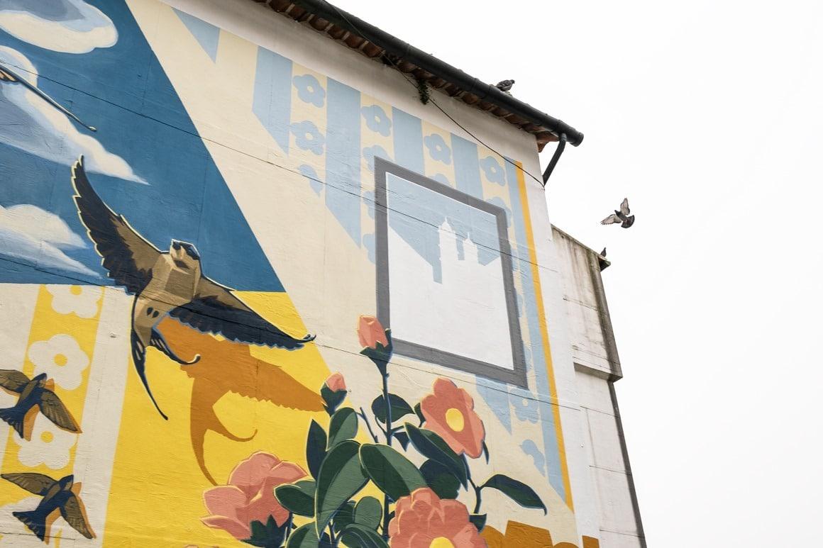 Mural Casa das Camelias