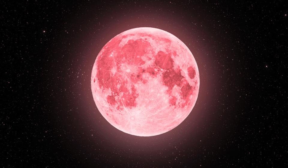 Super Lua 2021: uma fantástica lua rosa vai iluminar o céu já em abril