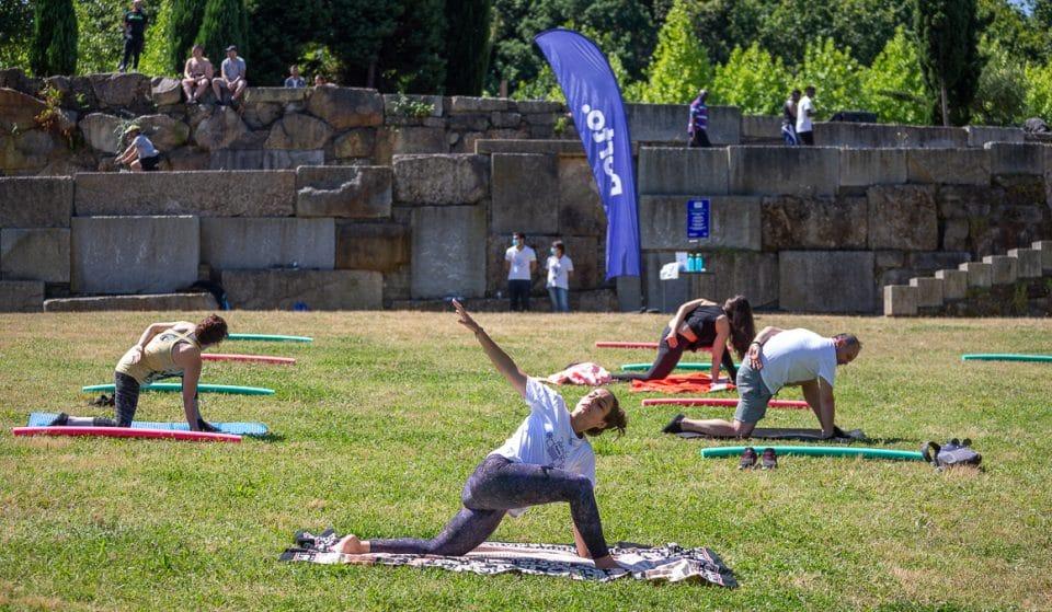 Aulas gratuitas de Yoga, Pilates e Tai-Chi são nos jardins da cidade