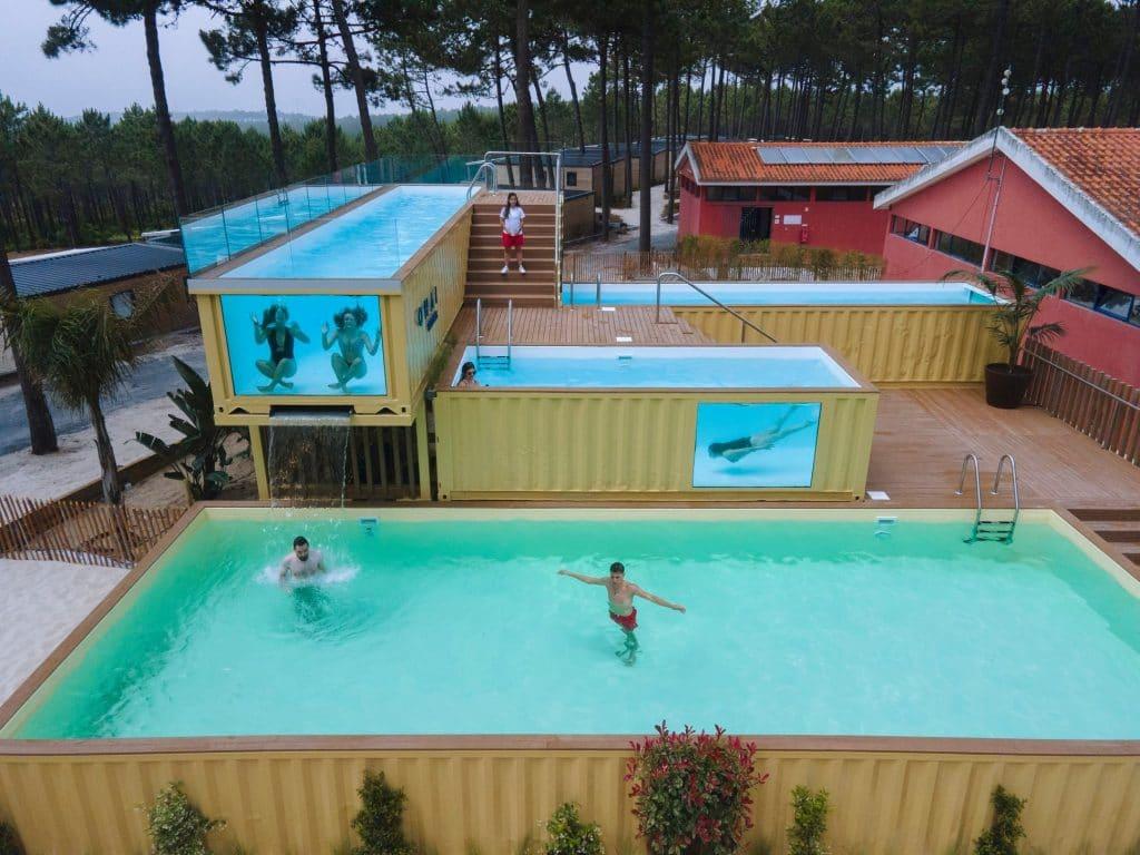 Portugal tem a piscina mais alta da Europa… fica na Nazaré
