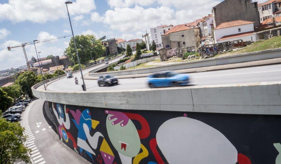 Um mural dedicado ao nosso querido S. João nasceu nas Fontainhas