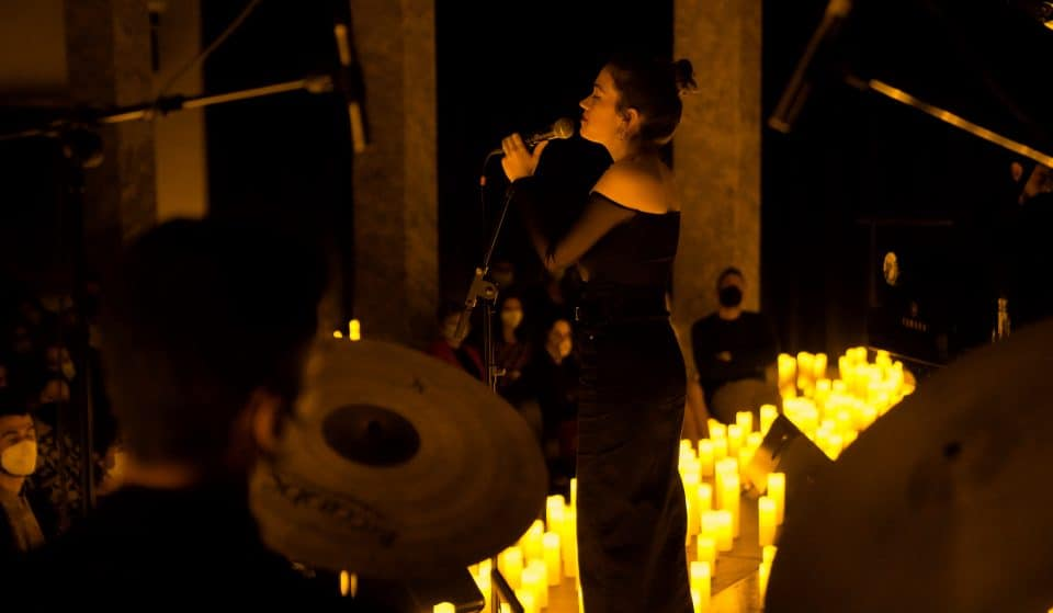 Outubro traz temas de imponentes divas do jazz, num concerto à luz das velas