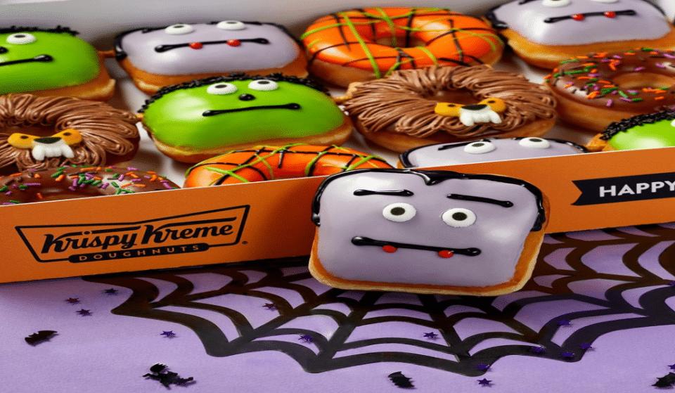 Les nouveaux beignes d'Halloween chez Krispy Krème !