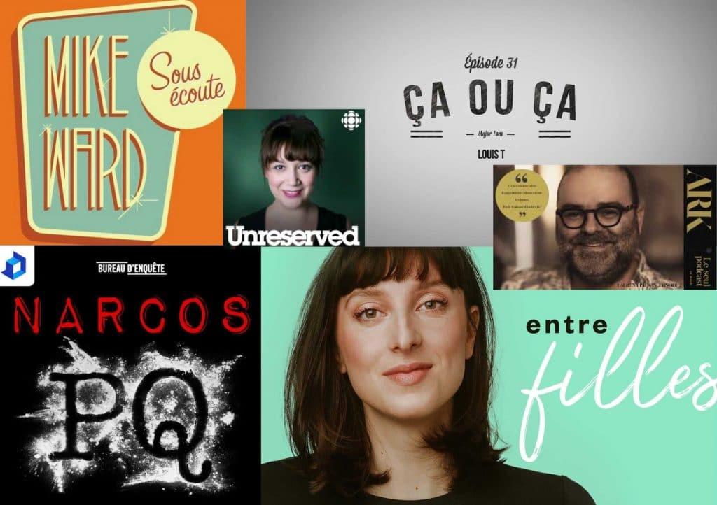 5 meilleurs balados québécois!