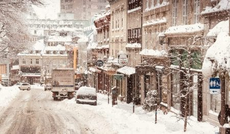 Une tempête de neige frappera le Québec dès demain