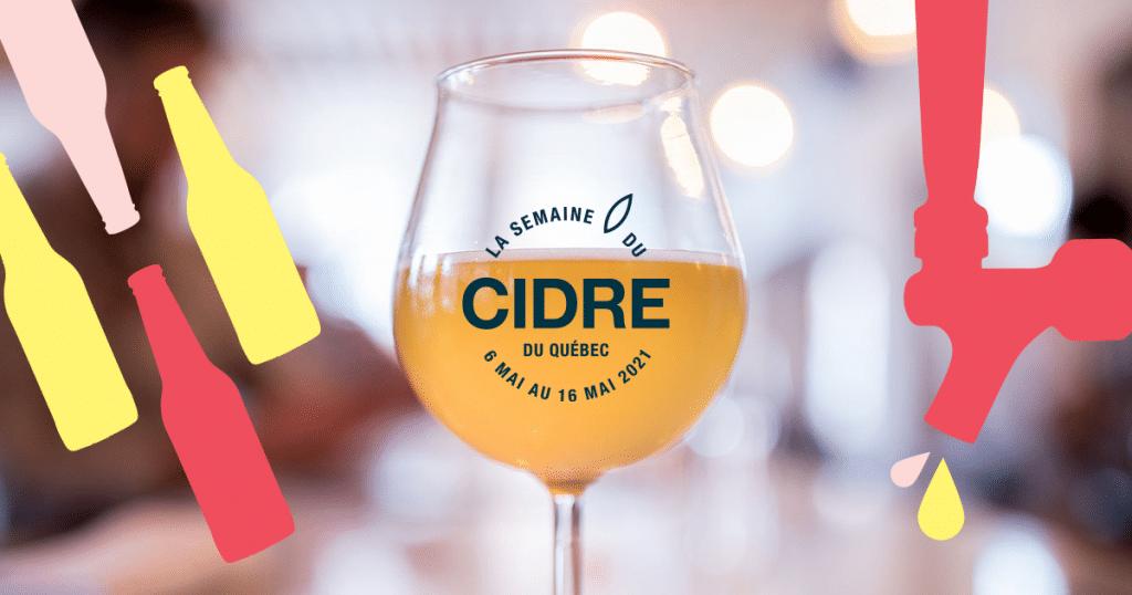 La Semaine du cidre du Québec est en cours et comprend des dégustations gratuites !
