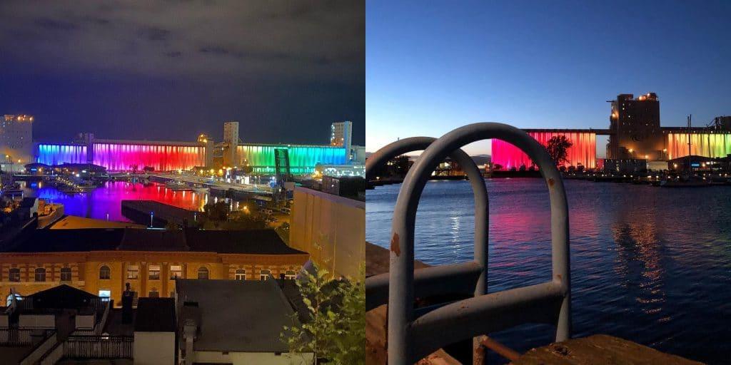 Cette projection gratuite au Vieux-Port de Québec est parfaite pour une soirée romantique