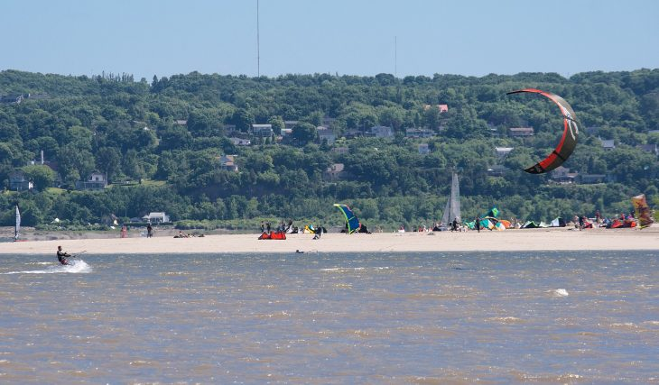 La plage de Beauport est maintenant accessible en fauteuil roulant