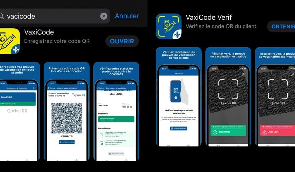 COVID-19 : vous pouvez télécharger l'application du passeport vaccinal dès maintenant