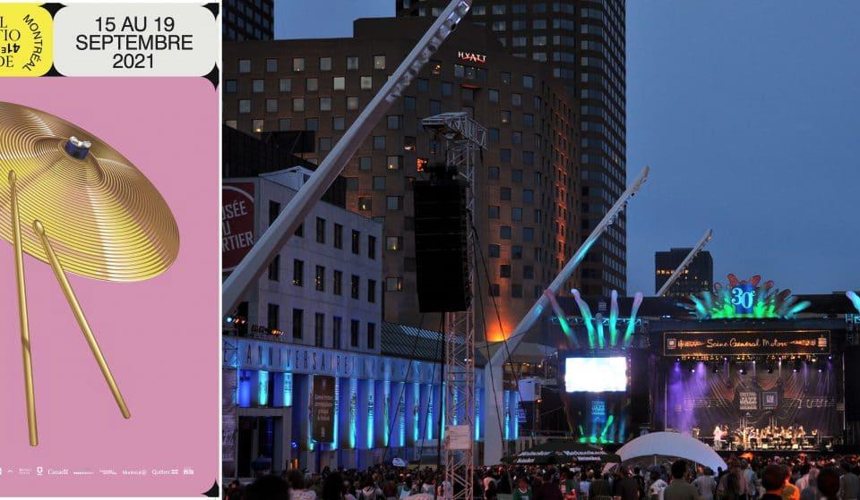 L'édition 2021 du Festival International de Jazz de Montréalcommence aujourd'hui!