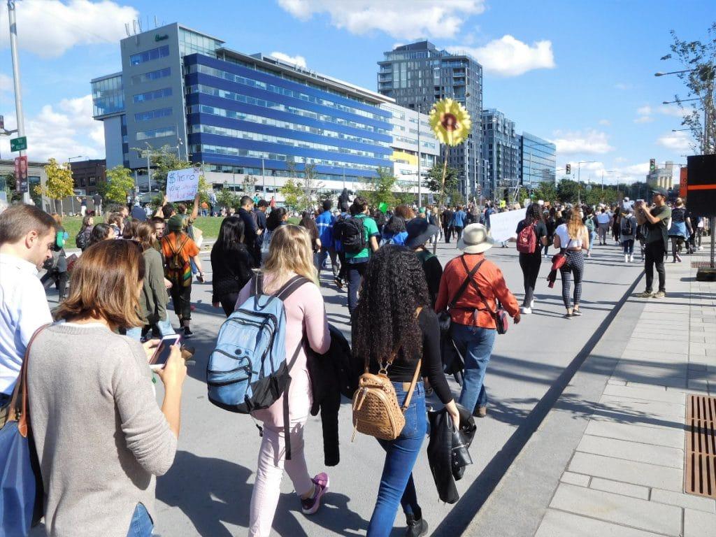 Une manifestation pour le climat aura bientôt lieu à Québec