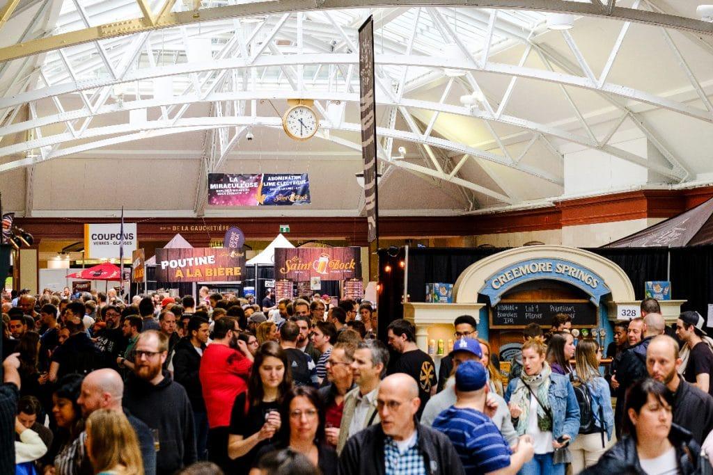 Vous pourrez essayer près de 125 bières cette fin de semaine au Mondial de la bière