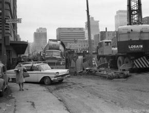 Le métro de Montréal a 55 ans et ces photos d'époque montrent ses débuts