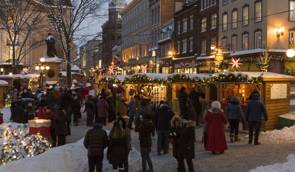 Le Marché de Noël allemand revient cet hiver!