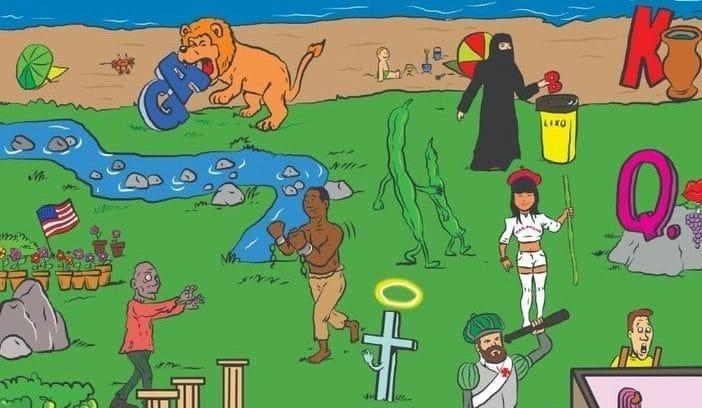 Desafio dos bairros do Rio: quantos aparecem na imagem?