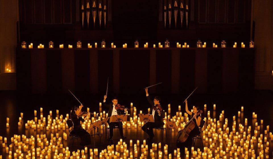 Quatro Estações de Vivaldi à luz das velas, na Sala Cecília Meireles