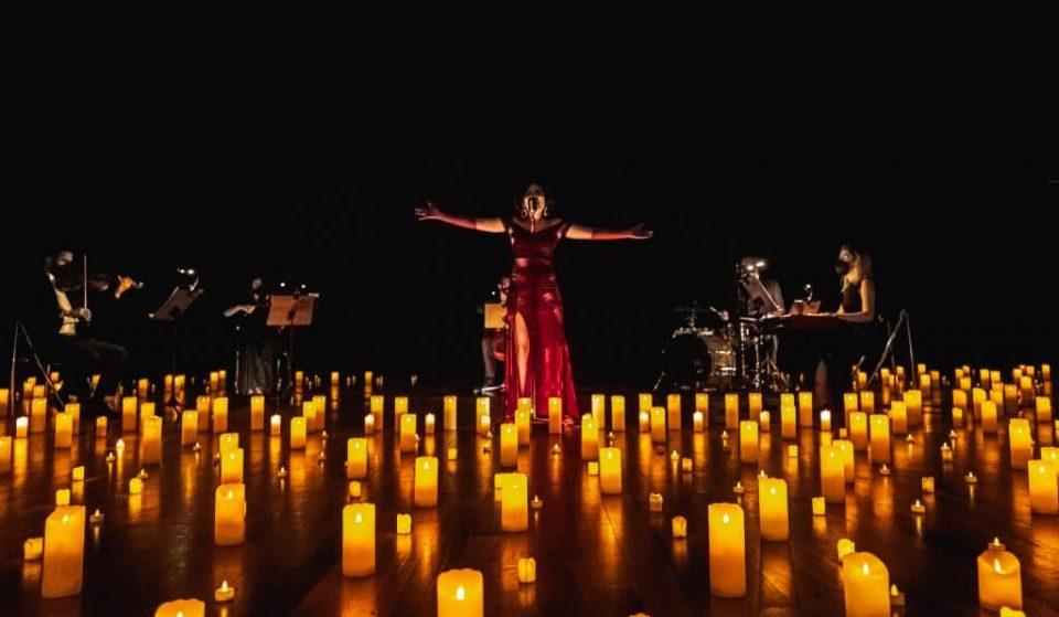 Candlelight de Tributo a Elis Regina ao ar livre