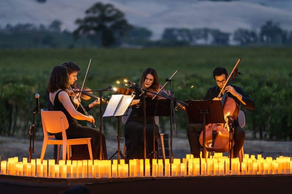 candlelight open air musicais
