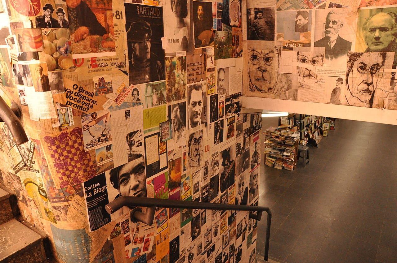 Passagem Literária da Consolação, o túnel (quase) secreto na esquina da Paulista